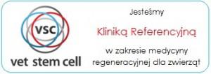 Jesteśmy Kliniką Referencyjną VETSTEMCELL!